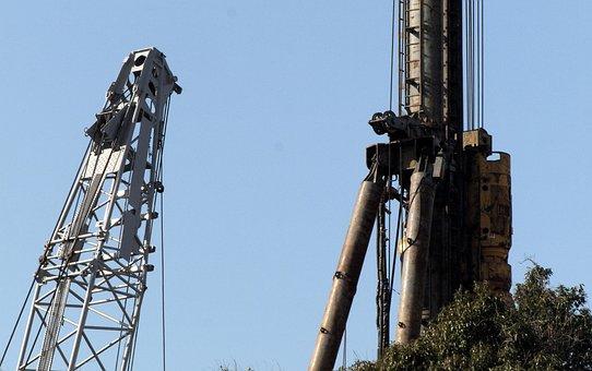 Heavy Equipment, Machinery, Metal, Crane