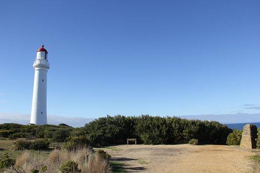 Split Point, Lighthouse, Scenery, Melbourne, Australia