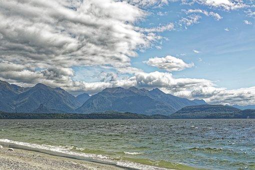 New Zealand, Hunter Mountains, Mountains