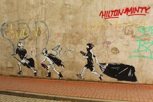 Mural, Graffiti, Fresco