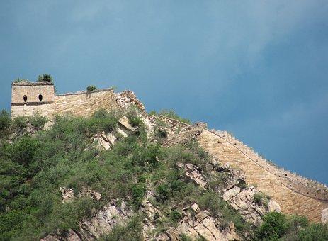 Great Wall Of China, China, Nature