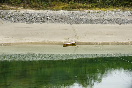 River, Ship, Boat, Landscape, Nature