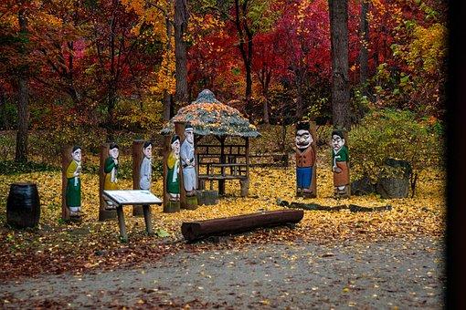 A Folk Tale, Long Ago, Story, Autumn, Nature, Tree