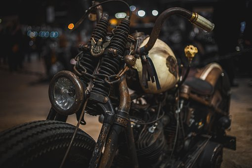 Motorcycle, Vintage, Old, Retro, Classical, Style