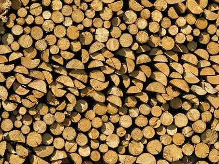 Wood, Stack, Firewood, Material, Holzstapel