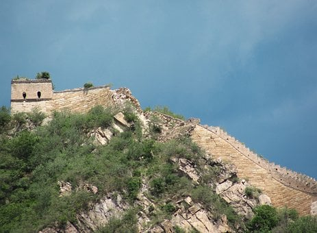 Great Wall Of China, China, Nature, World Heritage