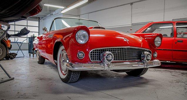 Chevrolet, Thunderbird, Muscle, Car, Auto, Dare