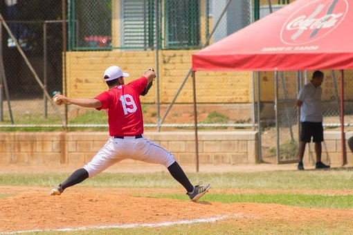 Baseball, Pitcher, Ball, Game, Player, Athlete, Action