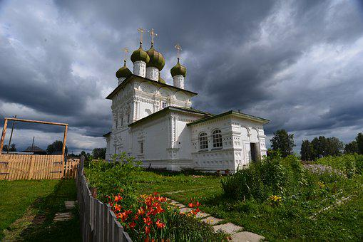 Russia, Orthodoxy, Temple, Cathedral, Dome