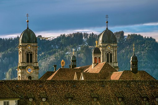 Monastery, Church, Building