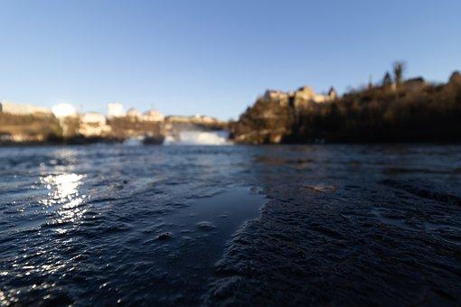 Light Reflection, Close Up, Rhine