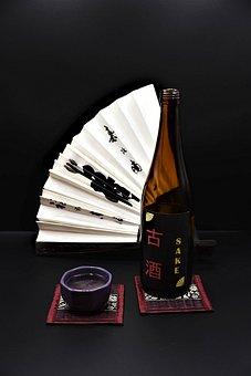 Sake, Bottle, Drink, Japan, Subjects, Alcohol, Asia