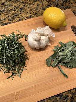 Herbs, Food, Garlic, Spices, Cooking