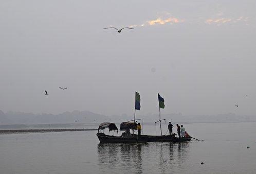 Pragraj, Ganga, River, Boat, Ganges, Travel, Culture