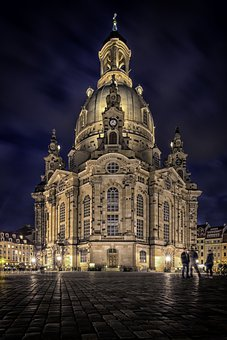 Frauenkirche, Dresden, Germany, Church, Saxony