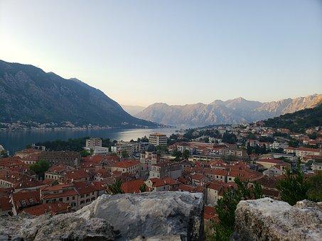 Bay Of Kotor, Montenegro, Balkan
