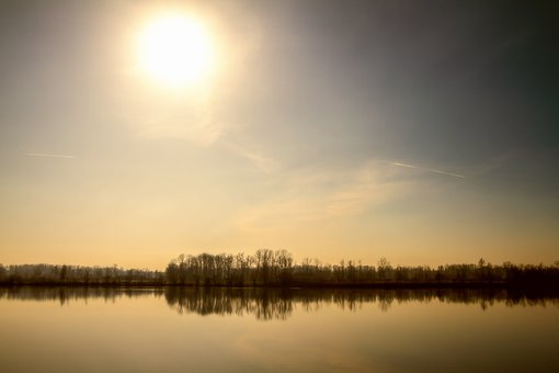 Landscape, Lake, Mood, Mirroring