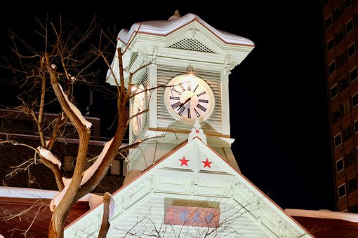 Sapporo, Clock Tower, Heritage Building