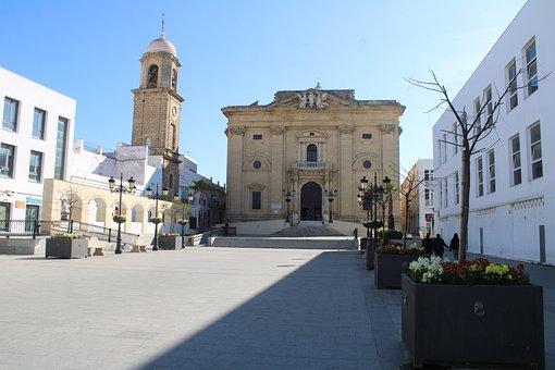 Chiclana De La Frontera, Temple, Church, Convent, Spain