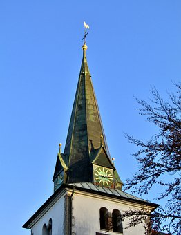 Steeple, Church, St, Bartholomew