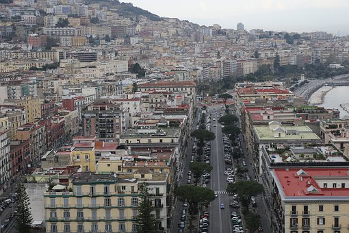 Naples, Italy, Architecture, Buildings, Streets