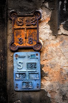 Panels, Water, Hauswand, Building, Old, Romantic