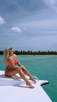 Dominican Republic, Saona Island, Boat, Yacht