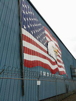Indivisible, America, American Flag, Usa