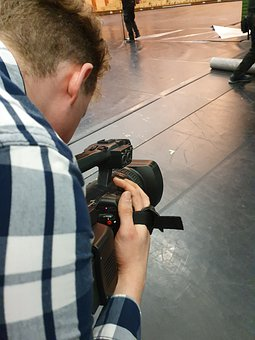 Camera, Filming, Video, Movie