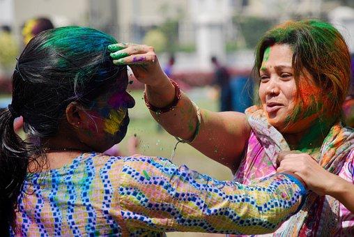 Holi, Paint, Celebration, Festival