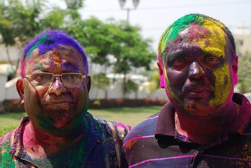 Holi, Paint, Celebration, Festival, India, Happy, Hindu