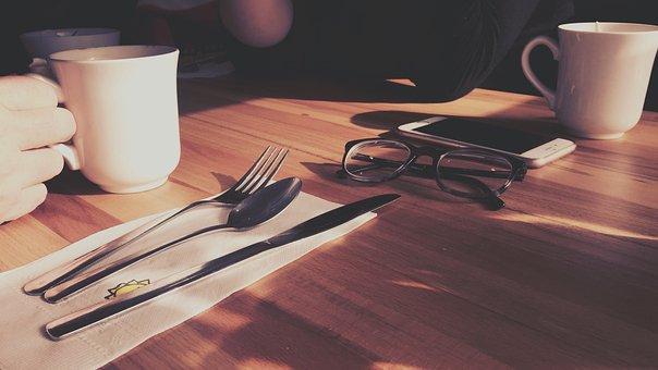Coffee Shop, Restaurant, Coffee, Break