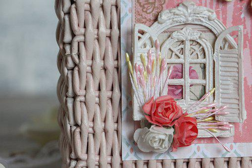Handmade, Creativity, Window, Flowers, Stamens, Weaving