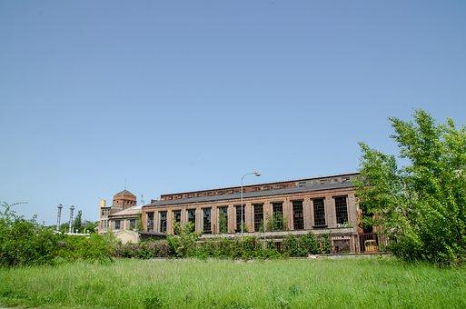 Building, Factory, Industry, Hall, Ruin