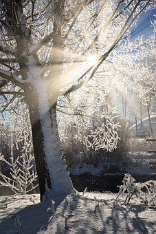 Sunstar, Hdr, Rays, Sun, Landscape, Mood