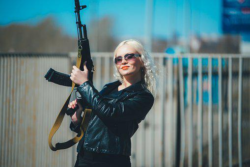 Cool Blonde, Girl With A Gun, Order, Kozhanka