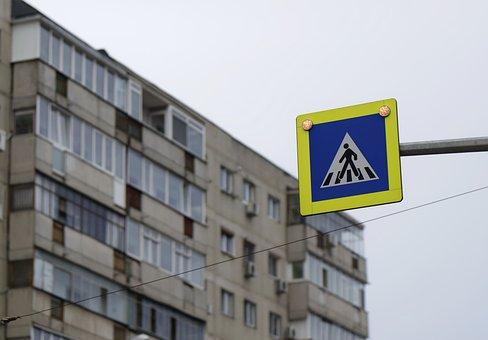 Indicator, Signal, Pass, Pedestrians