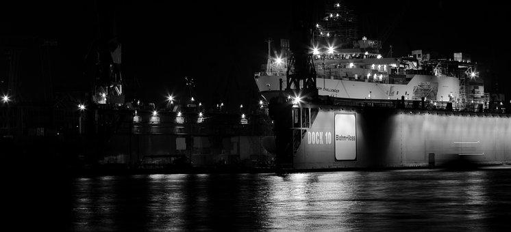 Hamburg, Port, Dock