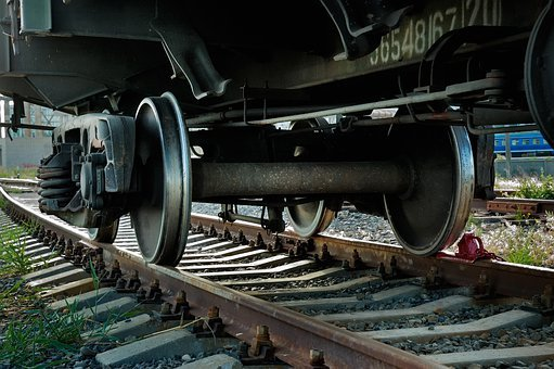 Train, Rusty, Wheel, Cart, Track, Railroad, Mode