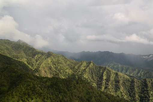 Mountains, Ridge, Landscape, View, Valley, Canyon