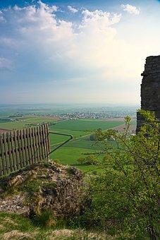 Rock, Mountain, Landscape, View, Mountains, Sky, Nature