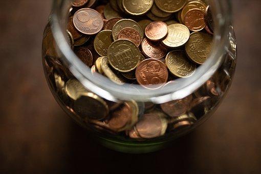 Money, Save, Piggy Bank, Euro, Coins, Cash, Business