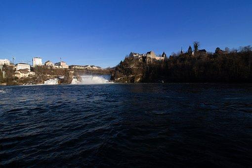 Rhine Falls, Waterfall, Switzerland