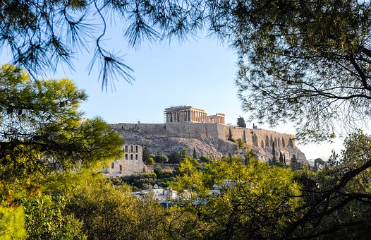 Athens, Acropolis, Temple, Greece, Greek