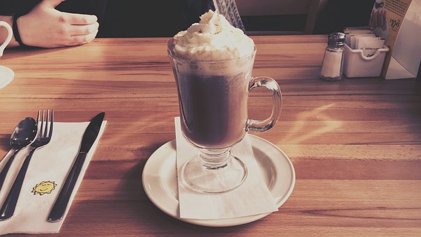 Cappuccino, Whip Cream, Drink, Coffee