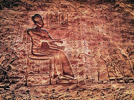 Egypt, Abusimbel, Mural, Trip, Temple