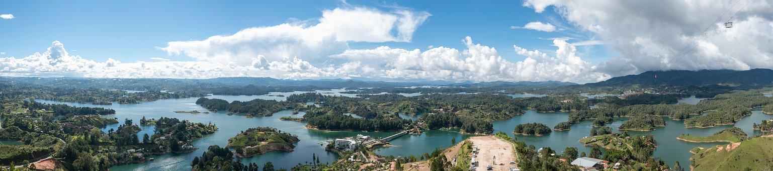 Panorama, Guatape, Colombia, Antioquia, Tourism