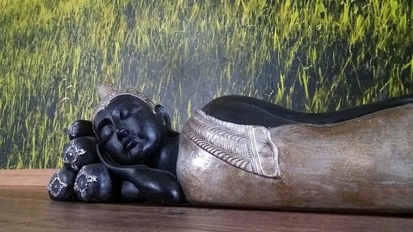 Buddha, Lying, Asia, Buddhism, Religion