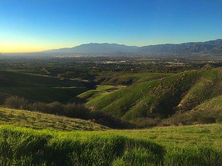Southern California, California, Hills