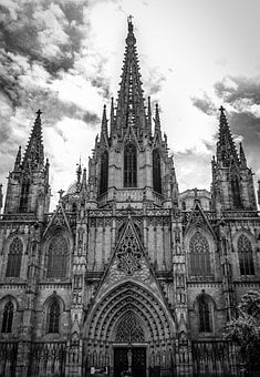 Barcelona, Cathedral, Spain, Catalonia